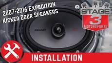 2007 2016 Expedition Kicker Ksc68 6x8 Door Speaker Upgrade