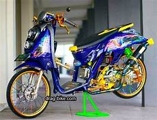 Scoopy Modif Stiker by 40 Foto Gambar Modifikasi Scoopy Thailook Simple Jari Jari