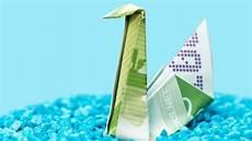Origami Vögel Falten - money origami animal folding money into a swan bird