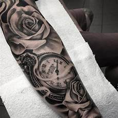 tatouage montre a gousset avant bras tatouage bras homme 50 tatouages homme en styles vari 233 s