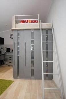 Hochbett Auf Schrank - ich biete ein vom schreiner gebautes hochbett welches auf