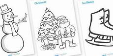 winter worksheets twinkl 20097 winter topic colouring sheets free printable sign up for a free twinkl account to