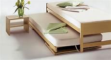 Doppelbett Mit Lattenrost - ausziehbett quot on top quot platzsparende m 246 bel ausziehbett