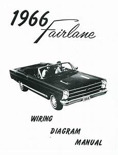 headlight switch wiring diagram 1966 fairlane 1966 66 ford fairlane wiring diagram manual ebay