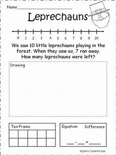 addition word problem worksheets for kindergarten 11338 march subtraction word problems addition words word problems math word problems