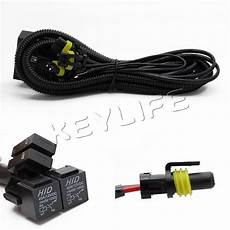 9003 headlight wiring diagram h4 9003 hb2 high low beam headlight dual relay wiring harness for hid conversion ebay