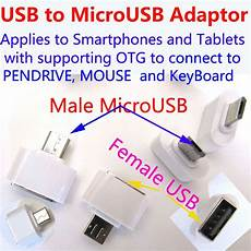Portable Keyboard Mouse Converter Adapter Support by Otg To Usb Adapter Mini Adapter Microusb To Usb Adapter