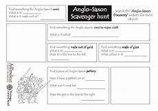 anglo saxon web scavenger hunt worksheet for 3rd 5th grade lesson planet
