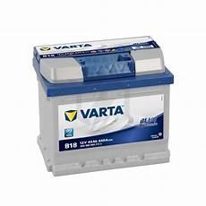 batterie varta blue dynamic b18 12v 44ah 440a 544 402 044