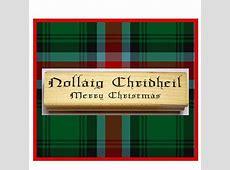 merry christmas in scottish gaelic
