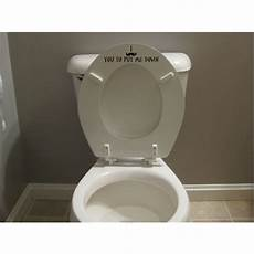 mustache toilet seat decal sticker put the seat