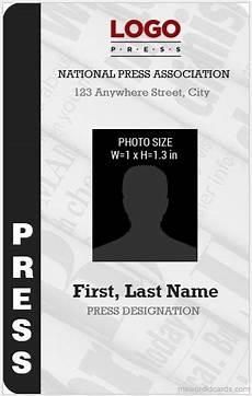 journalist id card template 10 best press reporter id card templates microsoft word