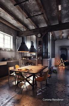 An Industrial Style Kitchen In You Ll