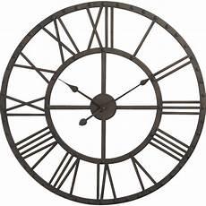 Grande Horloge Murale Ronde En M 233 Tal 70 Cm Objets Et
