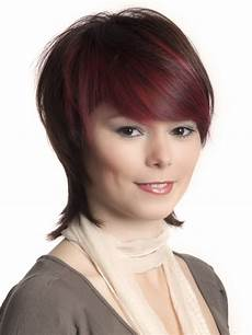 trendy short hairstyle with a longer nape undercut and