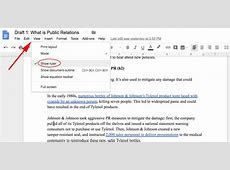 how to put hanging indent google docs