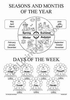 children can learn the seasons months and days while they