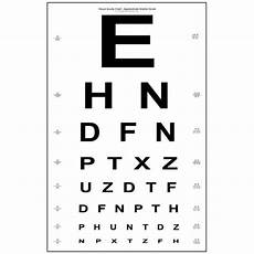 Snellen Eye Examination Chart Snellen Eye Chart Paper