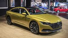 2019 vw arteon 2019 vw arteon four door coupe revealed for u s autoblog