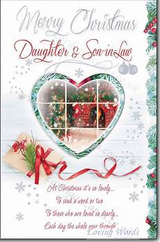 merry christmas son in law greeting cards by loving words