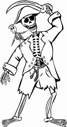 piratenskelett ausmalbild malvorlage comics
