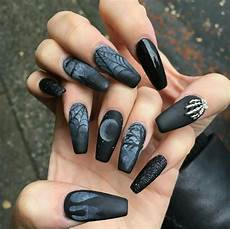 34 black matte coffin nails designs for summer 2019 koees blog