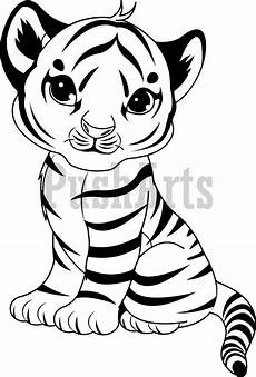 coloring pages of baby tigers search