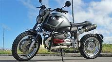 bmw r1150gs scrambler by iron macchina customs bikebound