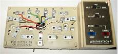 trane weathertron thermostat wiring diagram i have a old trane air handler model bwh730a100a1 hooked