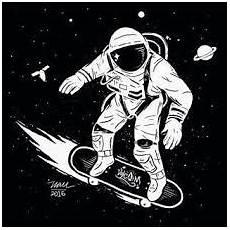 Gambar Kartun Astronot Keren Topik Pedia