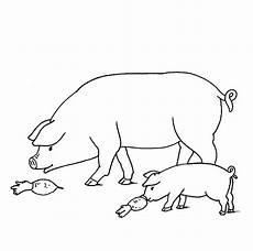 Ausmalbilder Schweine Bauernhof Ausmalbild Bauernhof Schweine Auf Dem Bauernhof Kostenlos