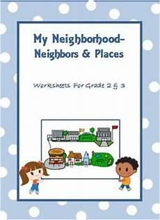my neighborhood worksheets for grade 2 3 grade 2