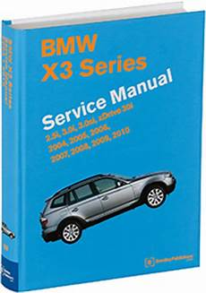 car repair manuals download 2006 bmw x3 instrument cluster bmw x3 e83 2004 2010 repair information bentley publishers repair manuals and automotive books
