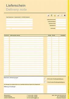 lieferschein formular im pdf format din a4h