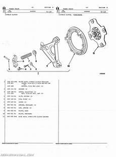 International Harvester 444 2444 Gas And Diesel Parts Manual