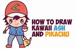 Pokemon Characters Archives  How To Draw Step By