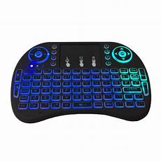 4ghz Wireless Colors Rainbow Backlight Keyboard by 2 4ghz Wireless 7 Colors Rainbow Backlight Keyboard With