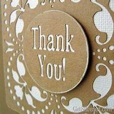 thank you card made with cricut cricut projects thank