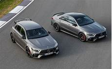 2020 mercedes amg a 45 and 45 unleashed with up to 421