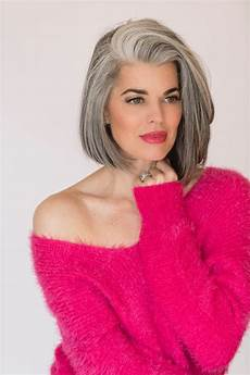 Hairstyles For With Gray Hair