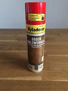 Test Xyladecor Gegen Holzw 252 Rmer Holzwurm Bek 228 Mpfen
