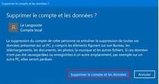 supprimer compte invité windows 10 windows 10 supprimer un compte utilisateur 6 m 233 thodes