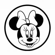 Micky Maus Gesicht Malvorlage Minnie Mouse Minnie Maus Maus Basteln Maus Malen