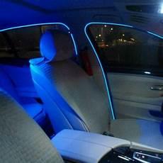 glowing interior 2pcs 1m 2m 3meters neon light glow el salon wire