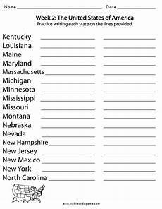spelling worksheet 5th grade 22651 usa states 4 5th grade spelling words