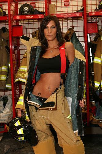Poster Sexy Girl Fireman