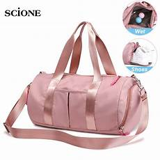 pink dry bag fitness gym bags for men yoga mat tas travel training sac de sport gymtas