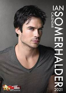 ian somerhalder poster calendar 2021 by 365 publishing