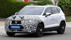 seat ateca facelift spied for the time