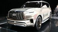 when does the 2020 infiniti qx80 come out infiniti qx80 monograph concept 2017 new york auto show